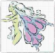 pattern People Women Animals Butterflies