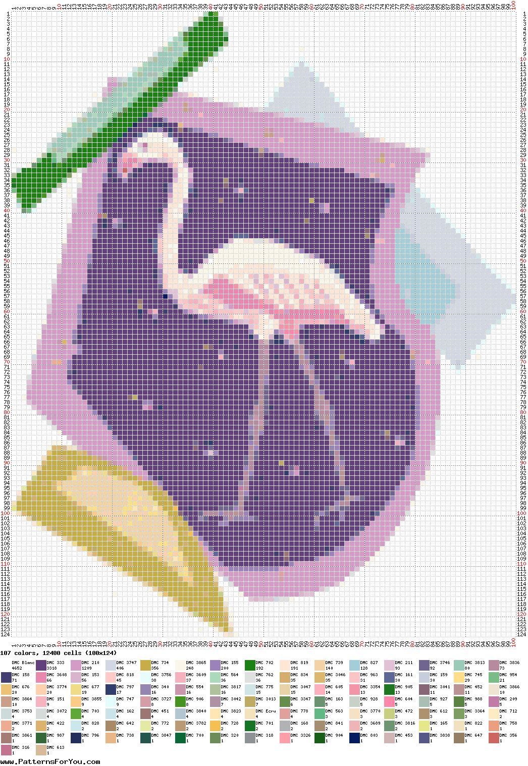 pattern Animals Flamingo