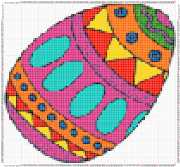 pattern Religion Easter Foods Eggs