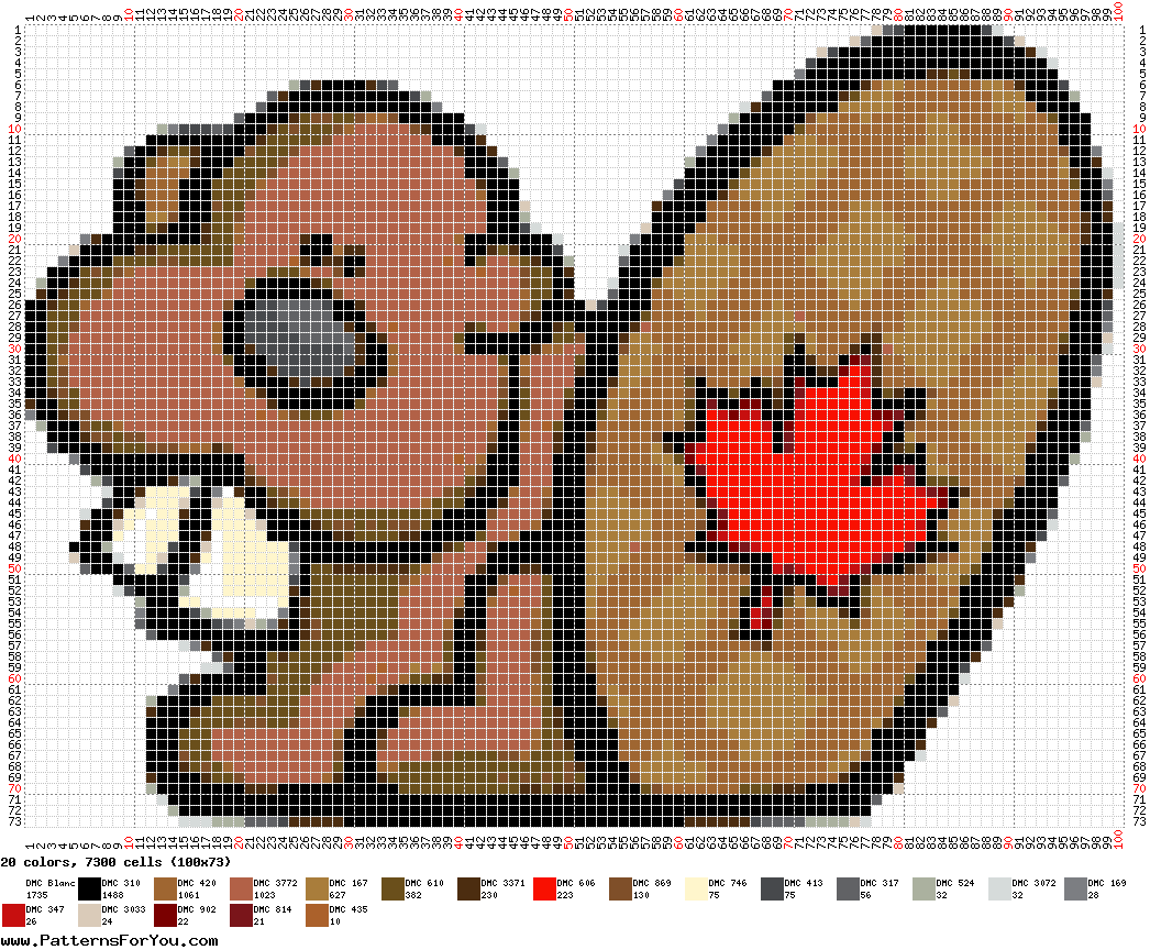 pattern Countries Canada Animals
