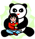 image People Children Countries China Animals Pandas