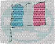 pattern Countries France Flags